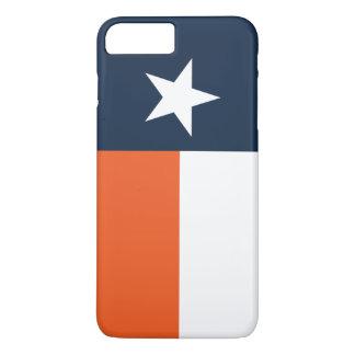Capa iPhone 8 Plus/7 Plus Azuis marinhos e laranja