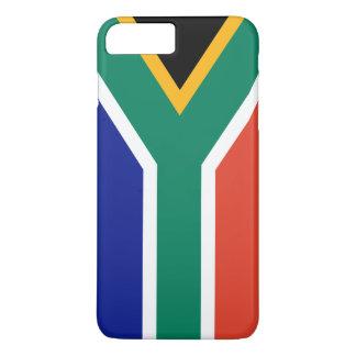 Capa iPhone 8 Plus/7 Plus Bandeira de África do Sul