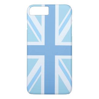 Capa iPhone 8 Plus/7 Plus Bandeira de união/azuis design de Jack
