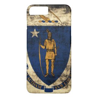 Capa iPhone 8 Plus/7 Plus Bandeira do estado do Grunge do vintage de