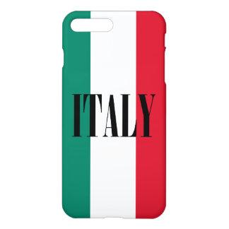 Capa iPhone 8 Plus/ 7 Plus Bandeira do italiano de Italia Italia