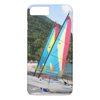 Capa iPhone 8 Plus/7 Plus Barco de navigação e material desportivo da água