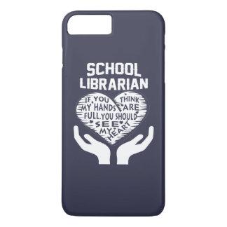 Capa iPhone 8 Plus/7 Plus Bibliotecário de escola
