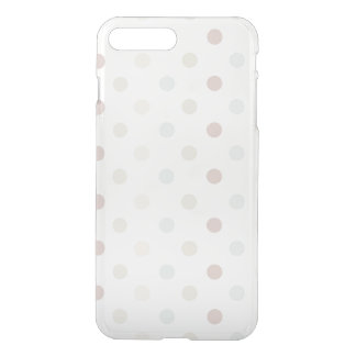 Capa iPhone 8 Plus/7 Plus Bolinhas pálidas