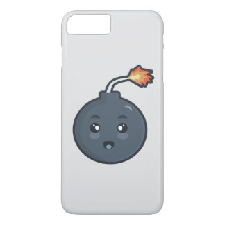 Capa iPhone 8 Plus/7 Plus Bomba de Kawaii