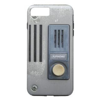 Capa iPhone 8 Plus/7 Plus Botão engraçado da chamada do intercomunicador