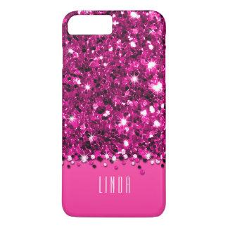 Capa iPhone 8 Plus/7 Plus Caixa Sparkly glamoroso dos confetes do brilho do