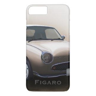 Capa iPhone 8 Plus/7 Plus Carro de Nissan Figaro da névoa do topázio