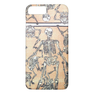 Capa iPhone 8 Plus/7 Plus Caso de esqueleto da dança