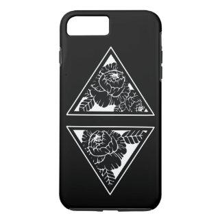 Capa iPhone 8 Plus/7 Plus Caso duro floral geométrico