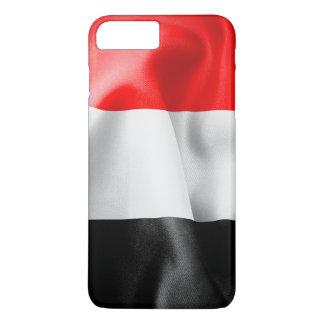 Capa iPhone 8 Plus/7 Plus Caso positivo do iPhone 7 da bandeira de Yemen