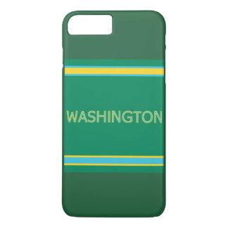 Capa iPhone 8 Plus/7 Plus Caso positivo do iPhone 7 de Washington