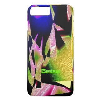 Capa iPhone 8 Plus/7 Plus Caso positivo do iPhone 7 multicoloridos de Bessie