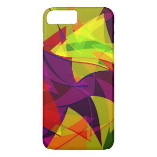 Capa iPhone 8 Plus/7 Plus Caso positivo do iPhone 7 multicoloridos do design