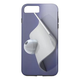 Capa iPhone 8 Plus/7 Plus Caso resistente positivo do iPhone 7