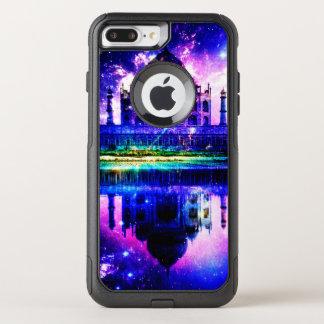 Capa iPhone 8 Plus/7 Plus Commuter OtterBox Sonhos iridescentes de Taj Mahal