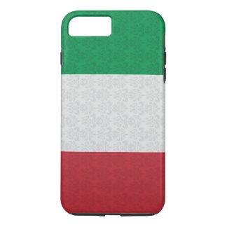 Capa iPhone 8 Plus/7 Plus Cor damasco italiana da bandeira