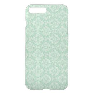 Capa iPhone 8 Plus/7 Plus Cor damasco verde