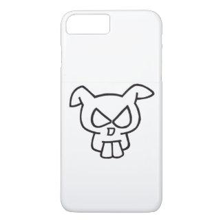 Capa iPhone 8 Plus/7 Plus Crânio do coelho