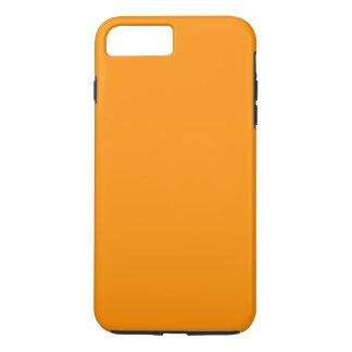 Capa iPhone 8 Plus/7 Plus ~ da CASCA ALARANJADA (cor frutado contínua)