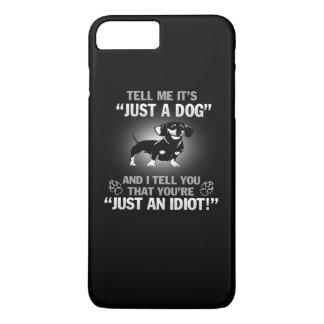 Capa iPhone 8 Plus/7 Plus DACHSHUND - seu não apenas um cão!