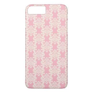 Capa iPhone 8 Plus/7 Plus Damasco retro floral