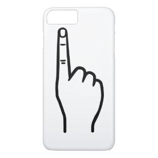 Capa iPhone 8 Plus/7 Plus Dedo