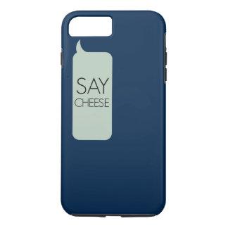 Capa iPhone 8 Plus/7 Plus Diga o queijo