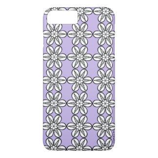 Capa iPhone 8 Plus/7 Plus Divertimento floral: Coloração de DYI por Sonja