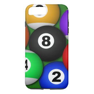 Capa iPhone 8 Plus/7 Plus Divertimento legal 8 oito bilhar das bolas de