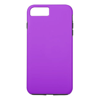 Capa iPhone 8 Plus/7 Plus ~ do ROXO da PAIXÃO da ORQUÍDEA (cor sólida)