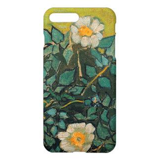 Capa iPhone 8 Plus/ 7 Plus Do vintage selvagem dos rosas de Vincent van Gogh