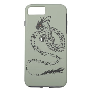 Capa iPhone 8 Plus/7 Plus Dragão tribal