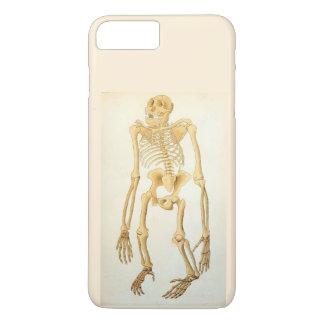 Capa iPhone 8 Plus/7 Plus Esqueleto anatômico do macaco