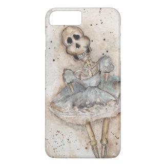 Capa iPhone 8 Plus/7 Plus esqueleto da menina