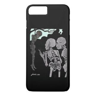 Capa iPhone 8 Plus/7 Plus Esqueleto de suspensão