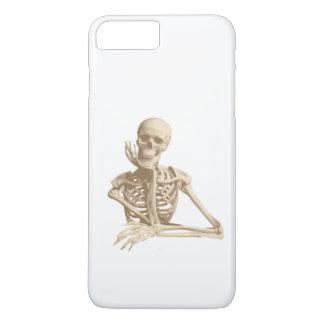 Capa iPhone 8 Plus/7 Plus Esqueleto feliz