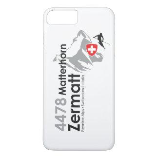 Capa iPhone 8 Plus/7 Plus Esqui de Matterhorn-Zermatt