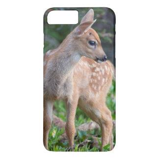 Capa iPhone 8 Plus/7 Plus Estado dos EUA, Washington. Jovem corça dos cervos