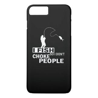 Capa iPhone 8 Plus/7 Plus EU PESCO assim que eu não bloqueio pessoas