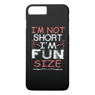 Capa iPhone 8 Plus/7 Plus Eu sou tamanho do divertimento