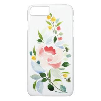 Capa iPhone 8 Plus/7 Plus eu telefono 6 ao cobrir positivo, flores florais