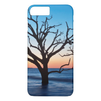 Capa iPhone 8 Plus/7 Plus EUA, South Carolina, ilha de Edisto, baía da