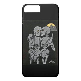 Capa iPhone 8 Plus/7 Plus Fala de dois esqueletos