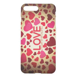 Capa iPhone 8 Plus/7 Plus Feliz dia dos namorados