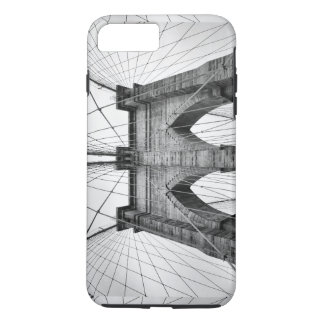 Capa iPhone 8 Plus/7 Plus Fim da ponte de Brooklyn acima da foto