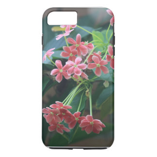 Capa iPhone 8 Plus/7 Plus Flores cor-de-rosa delicados do primavera