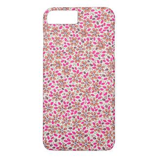 Capa iPhone 8 Plus/7 Plus Flores Handmade, coloridas, florais