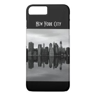 Capa iPhone 8 Plus/7 Plus Foto da paisagem da skyline da Nova Iorque