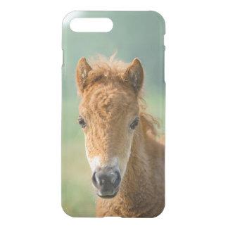 Capa iPhone 8 Plus/7 Plus Foto frontal bonito da cabeça de cavalo do potro